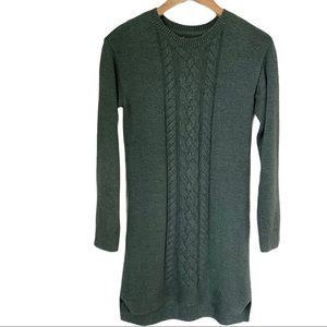 Green Sweater Dress sz Small
